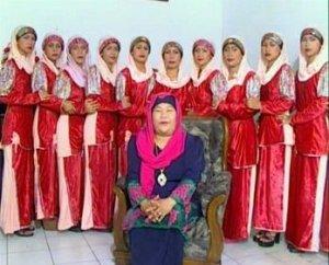 jilbab tahun 1990an