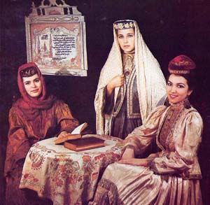 Tatar Women With Kalfaks