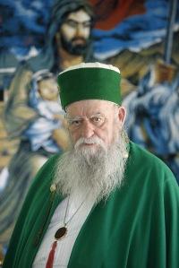 Haji Reshat Badi, salah seorang rehber, kepala dari para baba di Albania