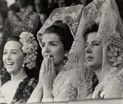 jackie kennedy in mantilla