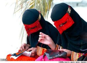 niqab of hormozgan
